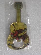 EDINBURGH Hard Rock Cafe Guitar Magnet Bottle Opener