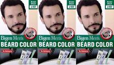 Men's Beard and Mustache Gel Color Brownish Black B102 Ammonia Free - 40g X 3PCS