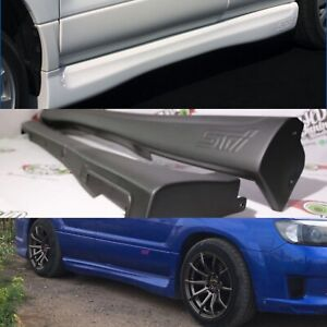 STI side skirts for subaru forester SG 2005-2007