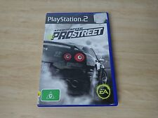 Need for Speed ProStreet pro street - PS2 Sony PlayStation 2 AUS PAL complete