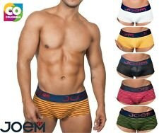 Joem Striped Boxer Briefs Sexy Mens Underwear Quick Dry Pouch Trunks Underpants