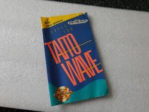 Taito Wave Insert Came Catalogue Sega Genesis / Rare