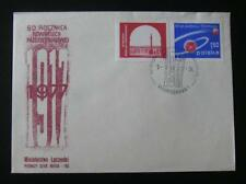 POLAND. 1977. Space, FDC, Communist October Revolution