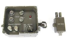 PRC77 PRC25 REMOTE CONTROL FK-11/C LK-11/C RADIO RECEIVER TRANSMITTER TA312/PT