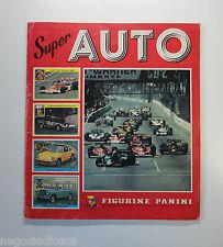 Album Figurine-Stickers - SUPER AUTO - Panini 1977 con 45 Figurine - BUONO
