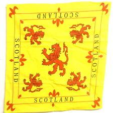 Scotland Lion Bandana / Scotland Lion Flag Bandana / Scotland