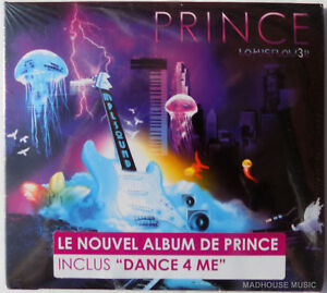 PRINCE CD LotusFlower - MPLS Sound Scarce FRENCH Single album w/ STICKER Sealed