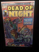 DEAD OF NIGHT #10 Kirby Art Very Good marvel Comics Group. Key Issue.