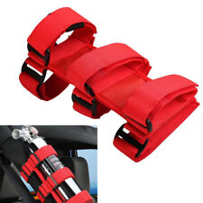 1x Red Car SUV Roll Bar Fire Extinguisher Holder Emergency Safety Accessory Belt