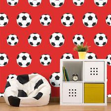 Belgravia Decor - Goal Rojo - Fútbol pared - Niño Infantil Habitación Papel