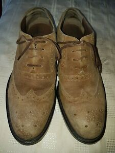 MEN'S PAVERS SHOES BROWN LEATHER SIZE EU41 UK8 A NICE PAIR OF SHOES