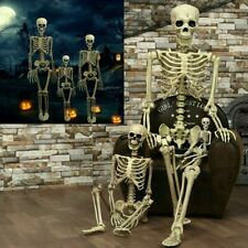 Halloween Props Life Size Skeleton Hanging Prop Haunted House Decoration Haunted