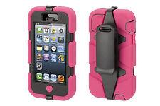Heavy Duty Tough Case Belt Clip iPhone 5 5S 4 4S iPod Touch 6 5 4