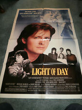 LIGHT OF DAY(1987)MICHAEL J. FOX ORIGINAL ONE SHEET POSTER