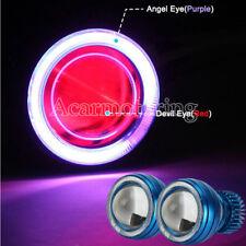 Purple Halo Angel Red Demon Eye Headlight For Yamaha R1 02-03 2002 2003