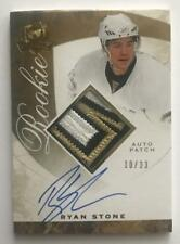 (HCW) 2008-09 The Cup Gold #133 Ryan Stone RC Rookie Auto 10/33 Patch 06999