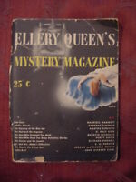 ELLERY QUIEEN's Mystery Magazine May 1944 Dashiell Hammett Agatha Christie
