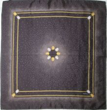 -Joli Foulard VOGUE BIJOUX  100% soie  TBEG  vintage Scarf 87 x 90 cm
