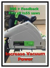 S'adapte FESTOOL Ts55 scie. insert. augmentation vide Power Made by Feskit.co.uk