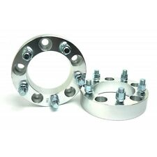 2 Pcs CNC Wheel Spacers | 5x5.5 to 5x5.5 ( 5X139.7 ) | 1/2 Studs | 38MM 1.5 Inch