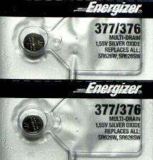 2 Pcs 377 376 SR626 AG4 LR626 LR66 606 SR66 177G4 Silver OX ENERGIZER Battery