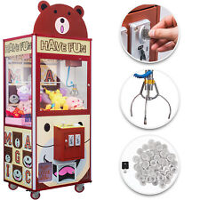 "30"" Claw Crane Machine Prize Arcade Machine Programmable Time Adjustable Bar"