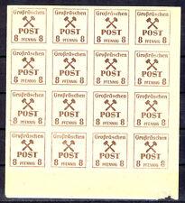 GROßRÄSCHEN xx Nr. 35y im kompletten SCHALTERBOGEN (736)