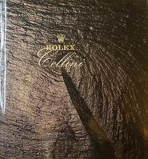 Original rolex Cellini montre-bracelet catalogue prospectus tarif 36 pages de 1988