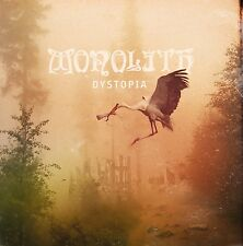 """MONOLITH -12"""" LP-  """"Dystopia""""       (Count Raven, Doom Rock, Stoner, Doom Metal)"""