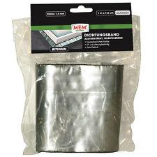 MEM Bitumen-Band 7,5 cm x 1 m alu