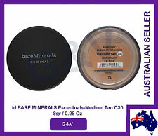 2 x Bare Minerals Escentuals  BareMinerals Medium Tan C30  8gr/0.28 Oz.