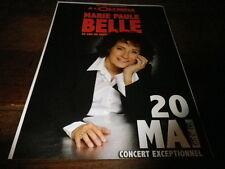 MARIE PAULE BELLE - Publicité de magazine / Advert !!! CONCERT OLYMPIA !!!