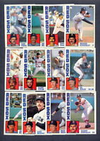 1984 Topps Boston Red Sox TEAM SET w/ Traded (31) Cards