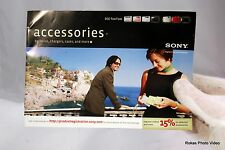 Sony Camera Cyber-Shot DSC-T20/T100 system brochure booklet Guide to Accessories