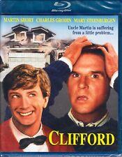 CLIFFORD  Martin Short  *BLU-RAY* comedy CHARLES GRODIN Steenburgen  80's LAUGHS