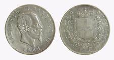 pcc2042) Vittorio Emanuele II Re d'Italia (1861-1878) - 5 Lire 1864 Napoli Rara