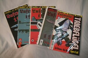 Luftwaffe 1946 #1-4 (1996) + Special - Families of Altered Wars Antarctic Press