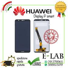 DISPLAY LCD +TOUCH SCREEN SCHERMO PER HUAWEI P SMART NERO FIG-LX1 ENJOY 7S