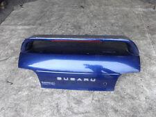 Subaru Impreza Turbo classic GC8 1993-01 52D blue tailgate bootlid spoiler boot