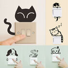 Removable Art Vinyl Quote DIY Cat Dog Wall Sticker Decal Mural Home Room SwitchA