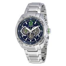 Citizen Blue Dial Mens Chronograph Watch CA4230-51L