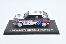 MODELLINO AUTO RALLY RALLYE SCALA 1/43 LANCIA DELTA INTEGRALE CAR MODEL DIECAST