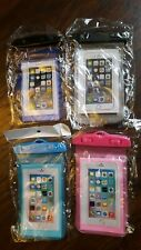 4 Pack Swimming Waterproof Underwater Pouch Bag Pack Dry Case for smart Phone