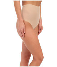 COMMANDO FEATHERLIGHT CONTROL THONG SEAMLESS SHEER PANTY NUDE #CC301 SMALL $38