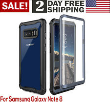 For Samsung Galaxy Note 8 Case Full Body With Built in Screen Protector
