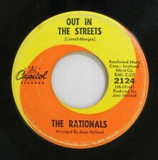 Hear! Garage Psych 45 The Rationals - Out In The Street / Need You On Capitol