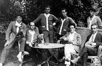 OLD PHOTO Olympic Games Paris France Football the Uruguay Team 1924 3