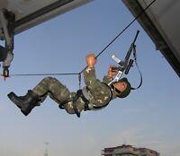 Geyperman,Action Man,Dragon,escala 1/6.Soldado militar con tirolina Madelman MDE