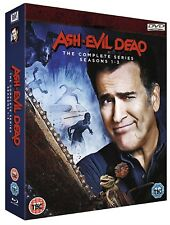 ASH vs. EVIL DEAD 1-3 (2015-2018) COMPLETE TV Seasons Series  NEW Rg2 DVD not US