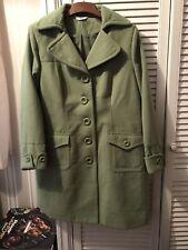 Joanna Hope Ladies Green Vintage Coat Size 18